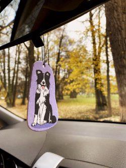 Border Collie Car Air Freshener (8)