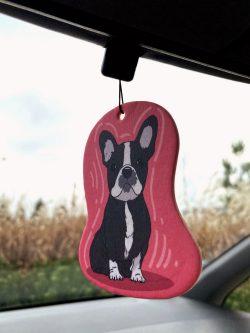 French Bulldog Car Air Freshener (8)