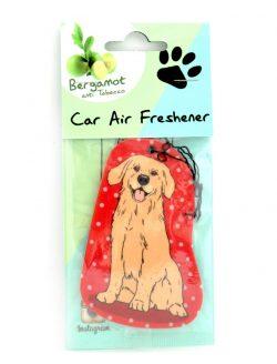 Golden Retriver Car Air Freshener (3)