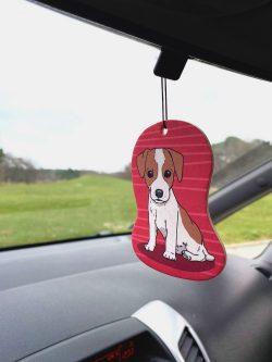Jack Russel Terrier Car Air Freshener (6)