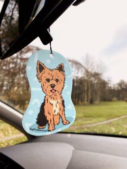 Yorkshire Terrier Car Air Freshener (8)